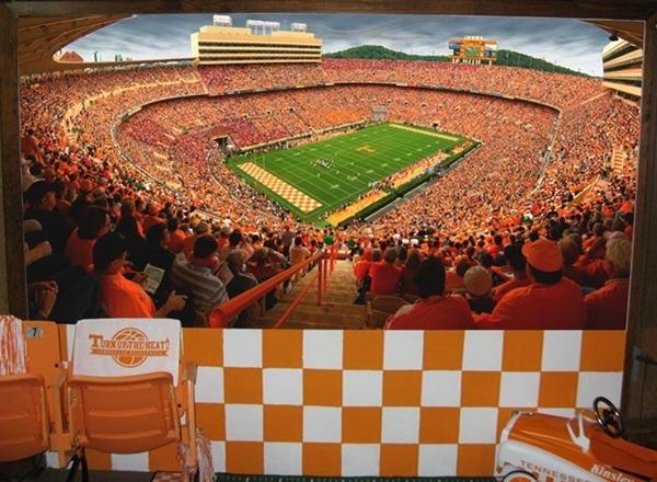 Man Cave Jackson Tennessee : University of tennessee man cave customer examples