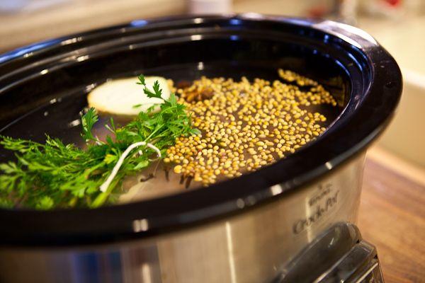 Crock Pot Vietnamese Chicken Pho Ga Noodle Soup