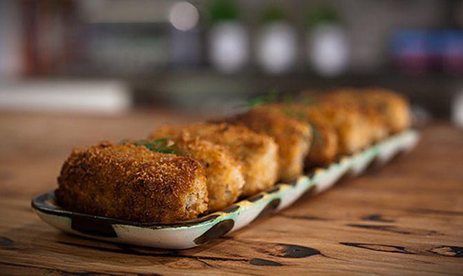 Millet and Tofu Croquettes | Food: Quinoa, Veggies, Salad .... | Pint ...
