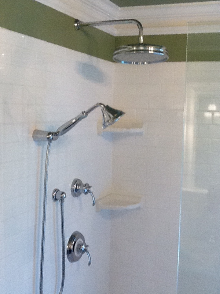 Shower fixtures master bathroom projects pinterest for Master bathroom fixtures