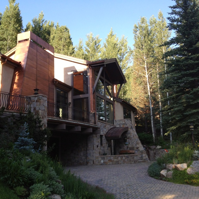 Cool Vail Colorado Home Western Home Pinterest