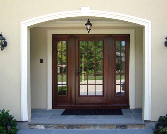 Pin by katie davenport on front doors pinterest for Traditional front doors