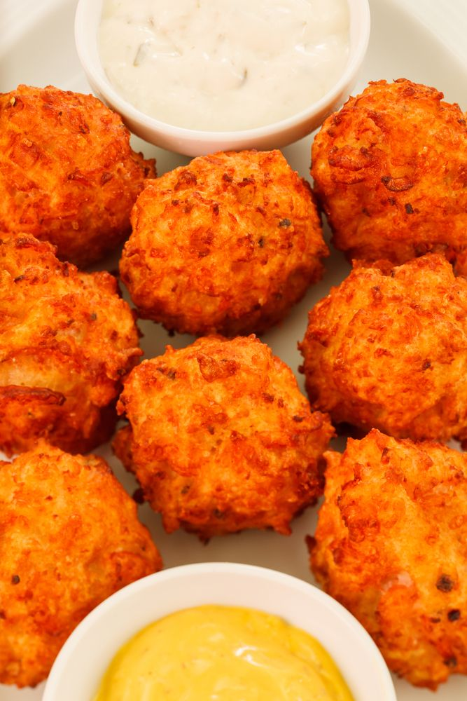 Fried Mac and Cheese Balls | Nom Nom | Pinterest