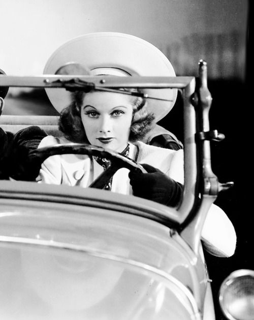 Lucille Ball in Go Chase Yourself, 1938 Oh   L U C Y!