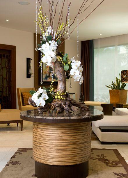 Pin by eva lopez on decoracion de mesas de sala y for Mesas redondas para comedor