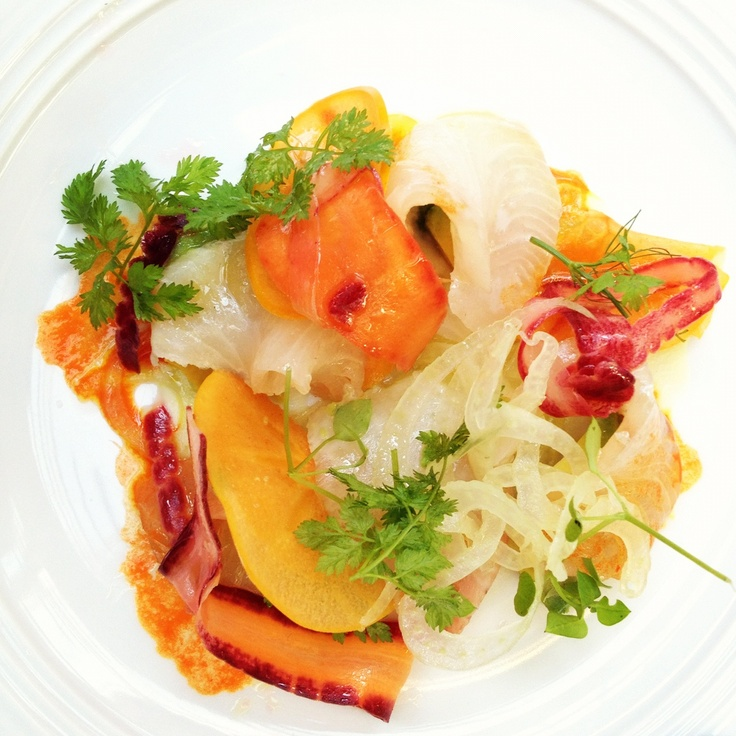 Fluke Crudo With Meyer Lemon Recipes — Dishmaps