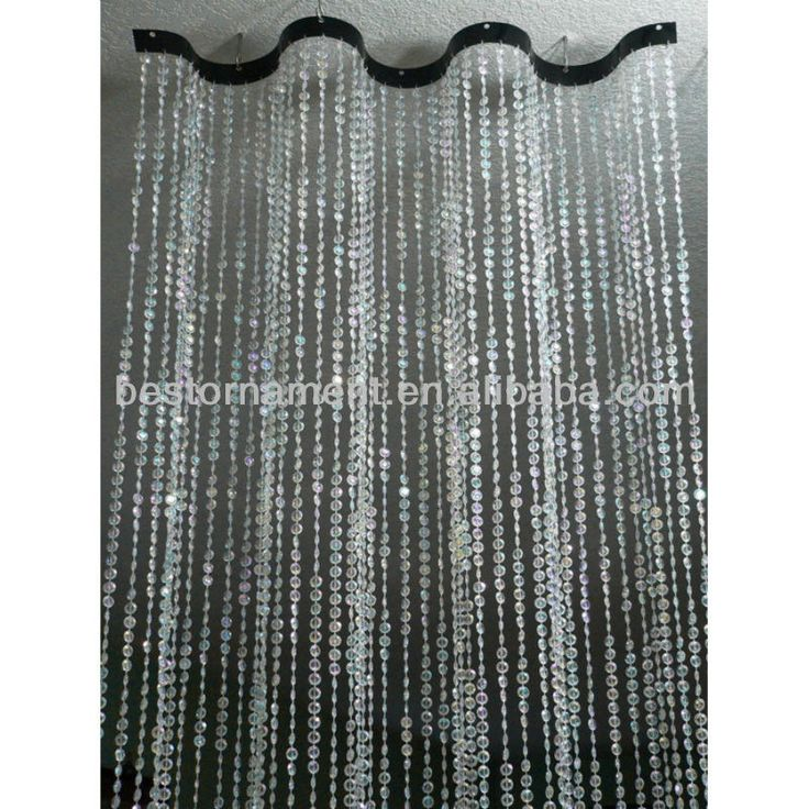 Wavy Beaded Curtain Room Dividers Buy Ceiling Curtain