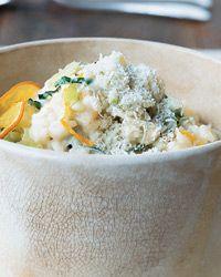 Meyer Lemon Risotto with Basil | Recipe