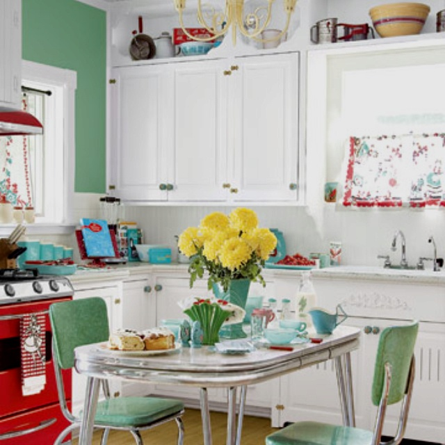 50s Kitchens Extraordinary Of 50s Style Kitchen Image