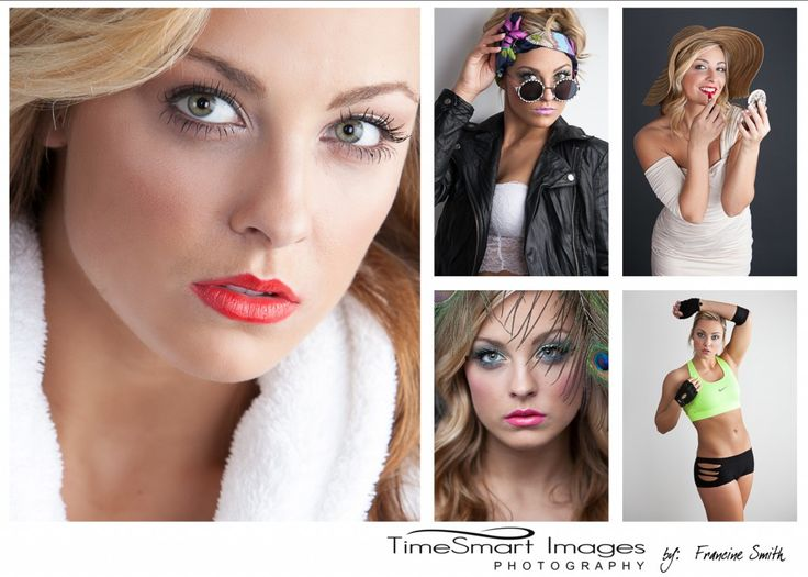 Makeup artist comp card
