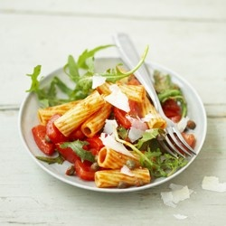 Spicy Pasta with Tomatoes   Italian   Pinterest