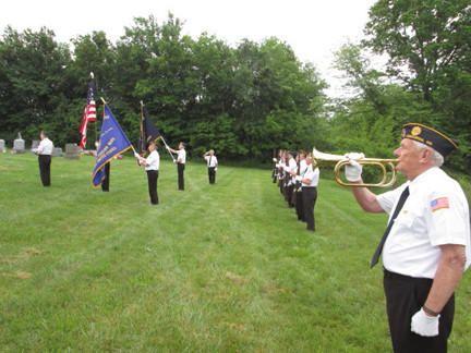 memorial day service at ft logan 2015