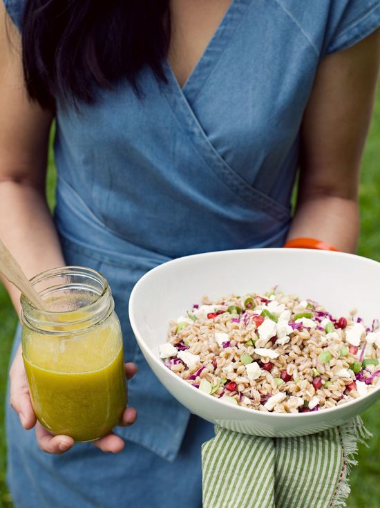 farro salad | Salads galore! | Pinterest