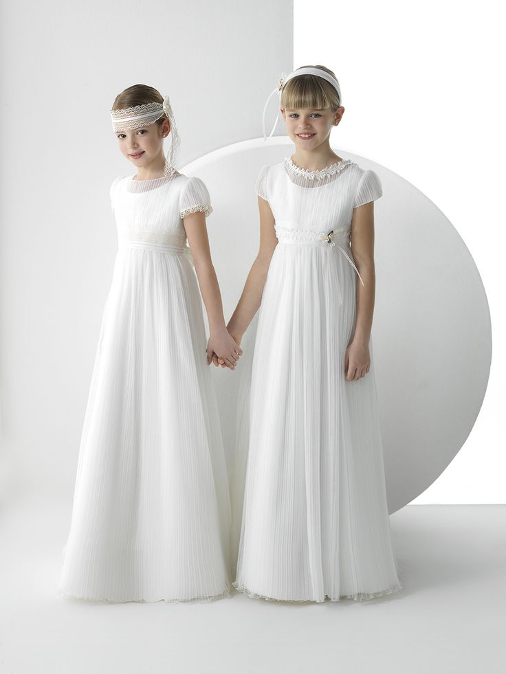 Sol rosa clar 225 first flowergirl communion dresses pinterest