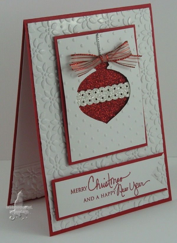 Homemade christmas cards card ideas pinterest for Handmade christmas cards