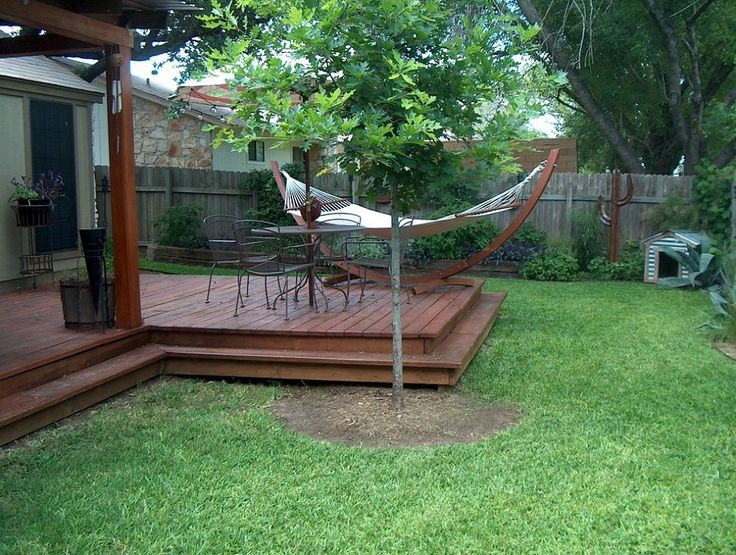 backyard transformation on a budget