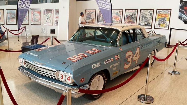 nascar hall of fame employment