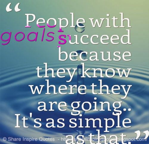 People with goals succeed because they know where they are going.. It's as simple as that.  #life #goals #quotes