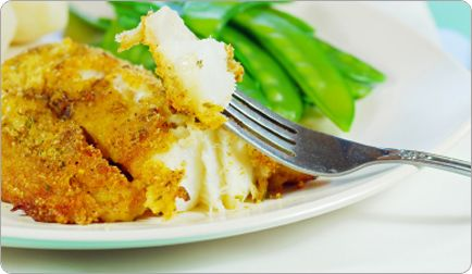 Crispy Oven-Fried Cod Fish | Recipe