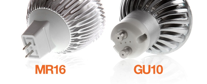 GU10 MR16 Fitting Difference | LED Bulbs