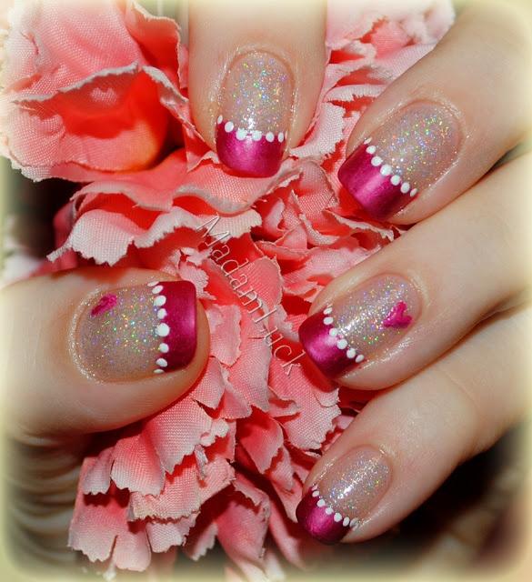Sweet Valentine | Nail Art | Pinterest