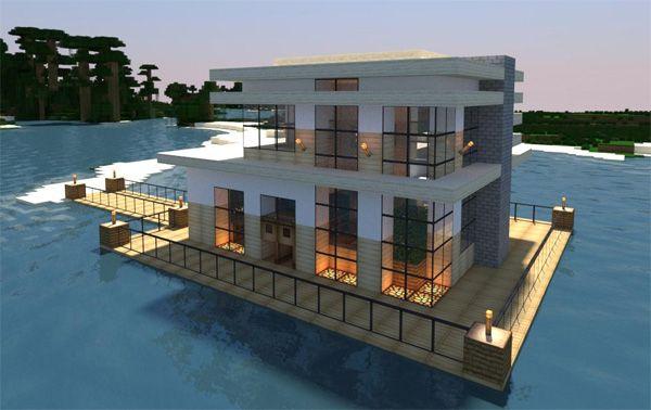 Minecraft beach house minecraft for Beach house designs minecraft