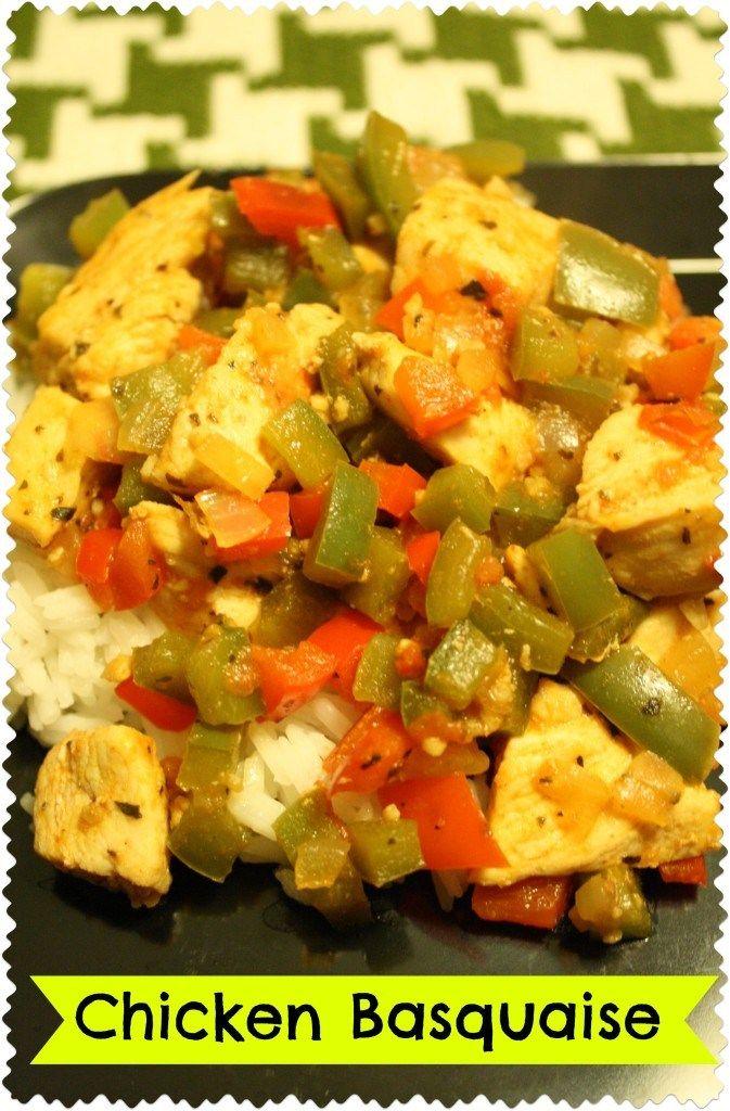 Chicken Basquaise | Food: Healthier Cooking | Pinterest