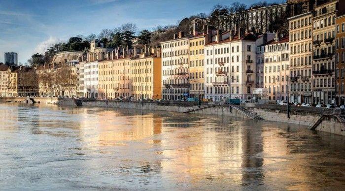 Rhône lyon in europe by river