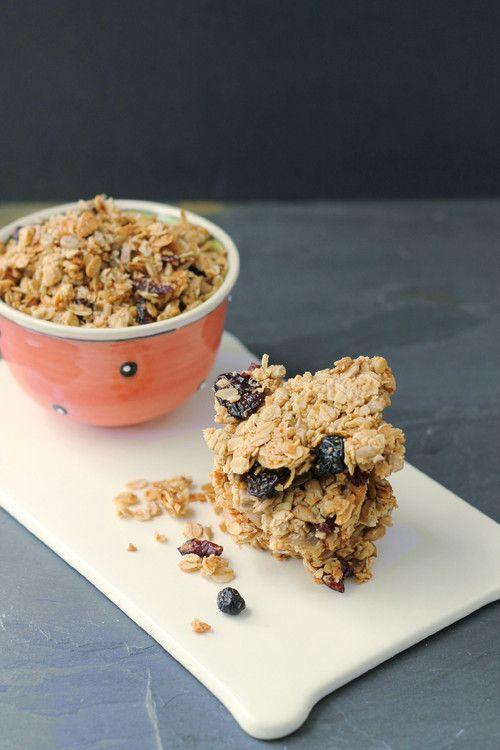 Crunchy Granola Bars - http://www.diypinterest.com/nut-free-crunchy ...