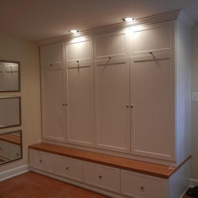 Mudroom Lockers With Doors