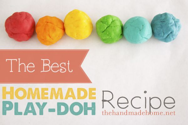 how to build stuff with play doh