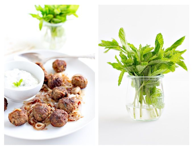 Lamb Souvlaki Meatballs | for the foodie | Pinterest