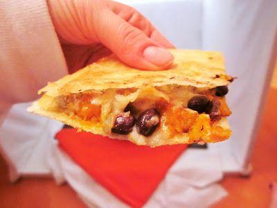 ... Food in RI & Beyond : Butternut Squash Black Bean and Kale Quesadillas