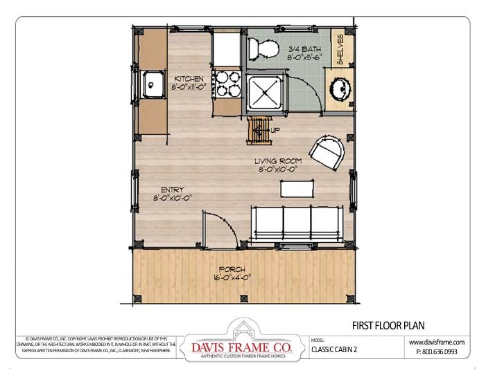 cabin plans | ... / Timber Frame Plans / Classic Barn Home Plans ...