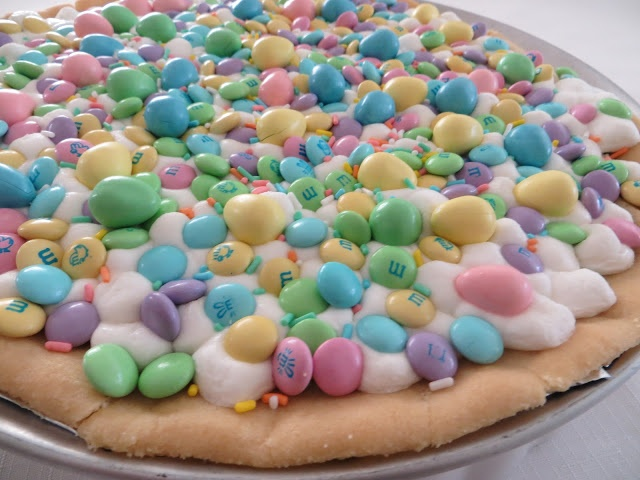 Coast With Me: Spring Cookie Pizza | yummy in my tummy | Pinterest