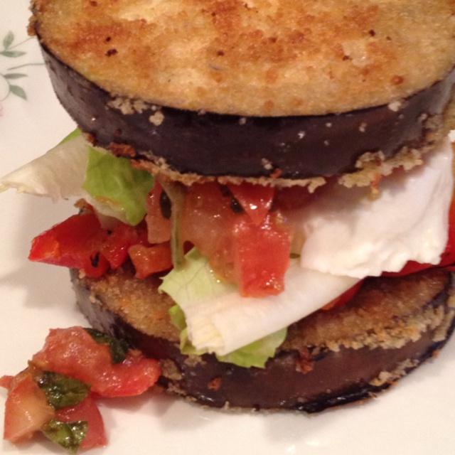 Eggplant sandwich fr