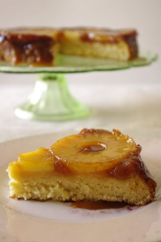 Upside down pineapple caramel cake | Baking - Cakes | Pinterest