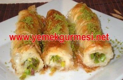 Fıstıklı Burma Baklava Tarifi   Yemekgurmesi