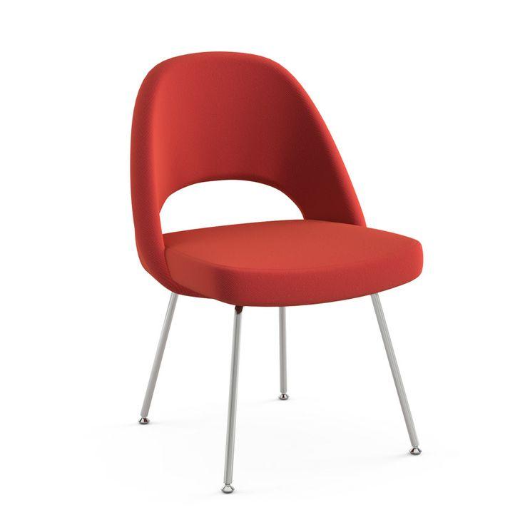 mfr knoll style saarinen executive armless chair approx price