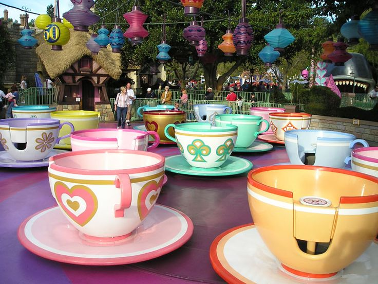mad hatter tea party ride