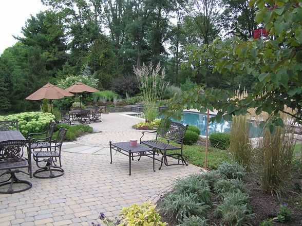 Landscape design landscape design landscaping pinterest for Pool landscaping