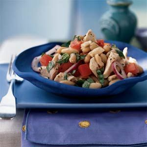 White Bean and Roasted Chicken Salad | MyRecipes.com #myplate #protein ...