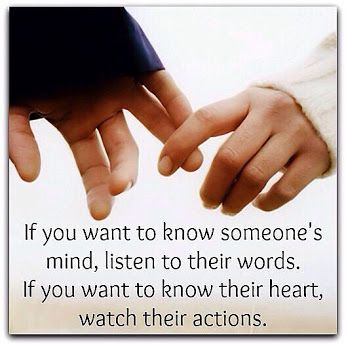 actions vs words dating Actions speak louder than words: 10 inspiring quotes get inspired to walk the walk with these quotes about the power of actions dating intimacy yes sex no.