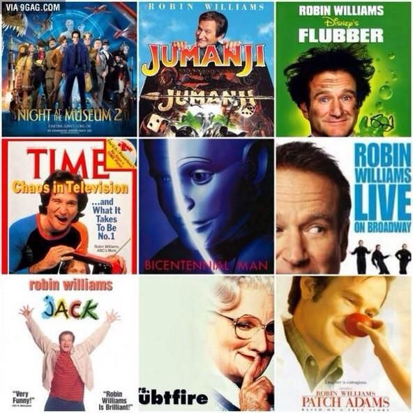 the work and impact of the actor robin williams I wonder how many production companies continued the practice into their next non-robin williams project, as well as how many people got a chance at a job and the pride of earning an income, even temporarily, from his actions he was a great multiplier of his impact let's hope that impact lives on.