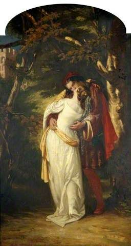 Romeo and Juliet by Alfred Elmore