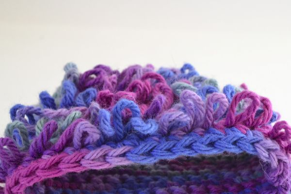 Crocheting Loops : loop crochet stitch makes a loopy fabric that is too cute strands an ...