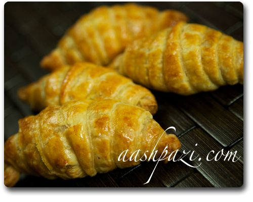 Croissant, puff pastry croissant recipe | Persian Food | Pinterest