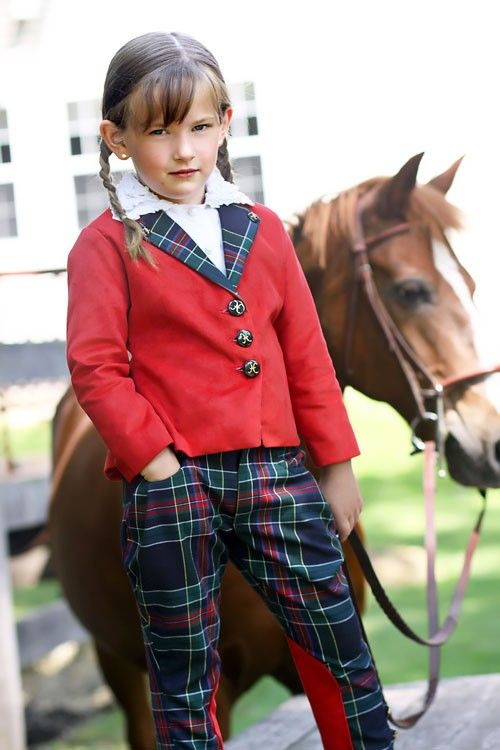 Plaid Jodhpurs