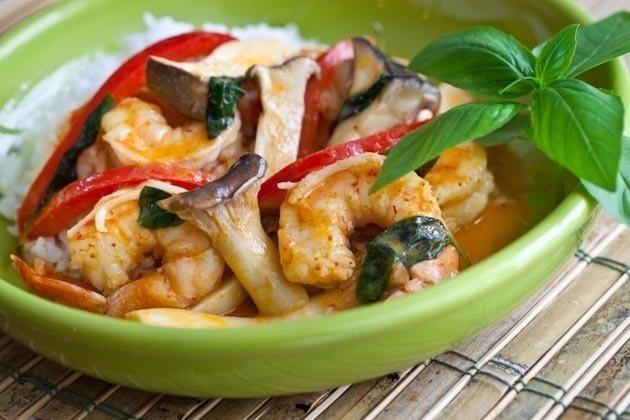 10-Minute Thai Shrimp Curry | Recetas 2 | Pinterest