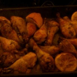 Lemon chicken recipe from pinterest.